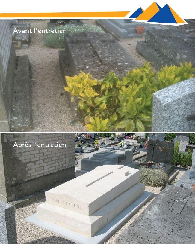 entretien de sépultures